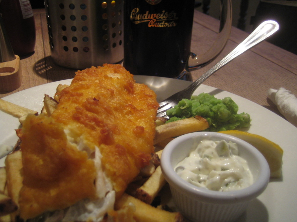 A guide to traditional british food united kingdom for Beer battered fish and chips