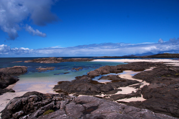 Ardnamurchan beach view