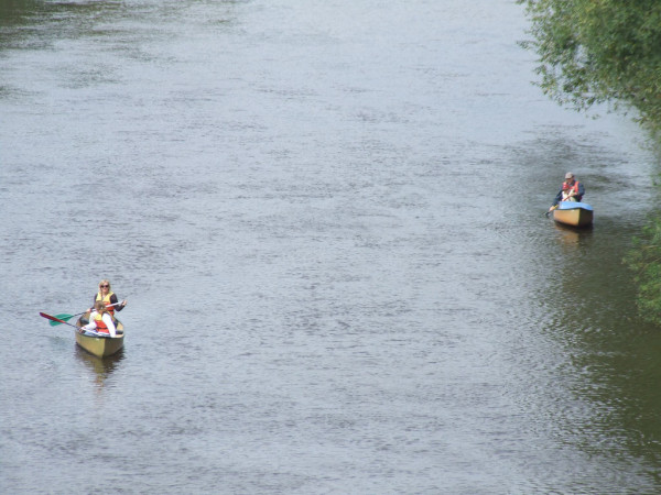 Canoeing on the Severn River nationalrural/Flickr