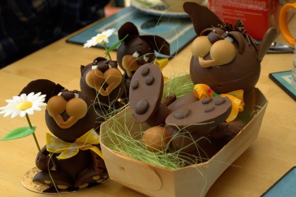 Easter chocolate bunnies sjdunphy/Flickr