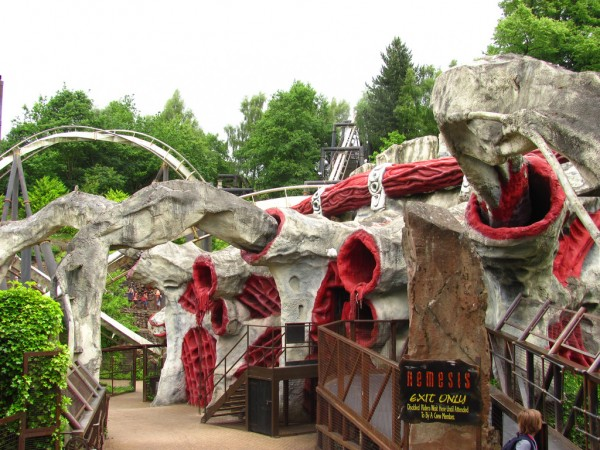 Nemesis, Alton Towers Roller Coaster Philosophy/Flickr