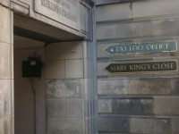A weird attraction in Edinburgh – Mary King's Close