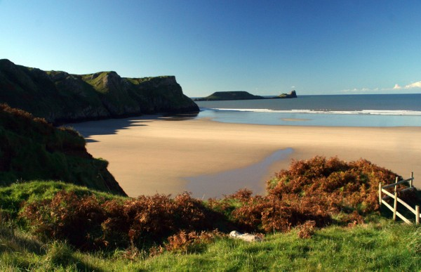 Rhossili Beach brianfagan/Flickr
