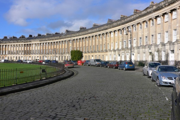 The Royal Crescent in Bath heatheronhertravels/Flickr