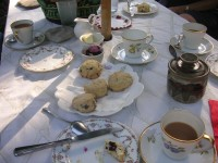 Have an afternoon tea in the UK