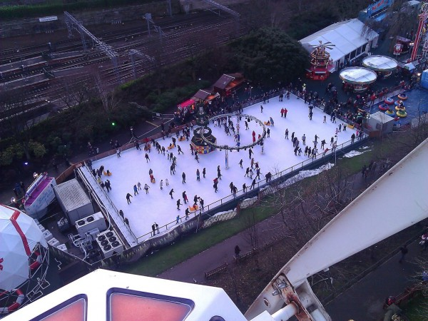 Edinburgh Castle ice rink Craig Murphy/Flickr
