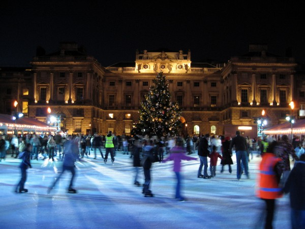 Somerset House ice rink, London uriba/Flickr