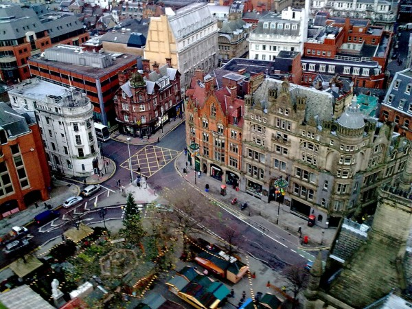 Aerial view of Albert Square gerry.scappaticci/Flickr