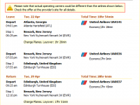 Edinburgh flights with United Airlines from $1,177 r/t