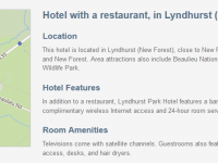 Lyndhurst Park Hotel in Hampshire for $189