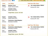 Turkish Airlines airfare to Manchester from $924 r/t