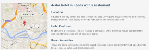The Met Hotel - description