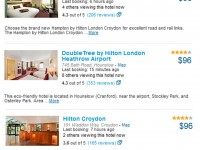 Hilton hotels in London on sale under $100 per night