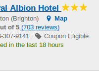 Royal Albion Hotel in Brighton under $100 a night