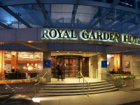 5 star Royal Garden Hotel for $270 a night