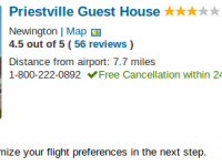 Edinburgh vacation at Priestville Guest House for $1303