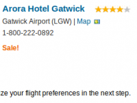London city break at Arora Hotel Gatwick for $782